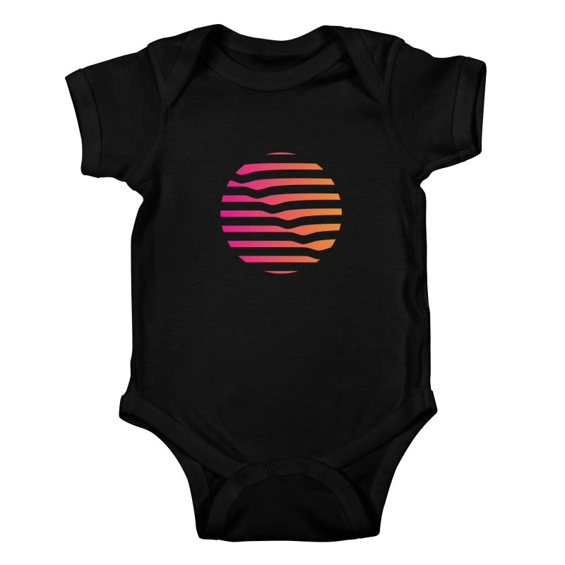 Geometric Circle Kids Baby Bodysuit by Caio Call Design Shop