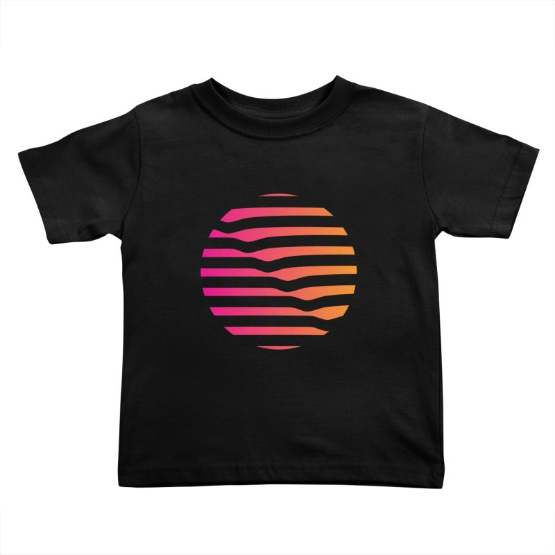 Geometric Circle Kids Toddler T-Shirt by Caio Call Design Shop