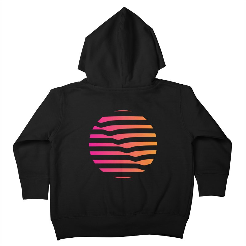Geometric Circle Kids Toddler Zip-Up Hoody by Caio Call Design Shop