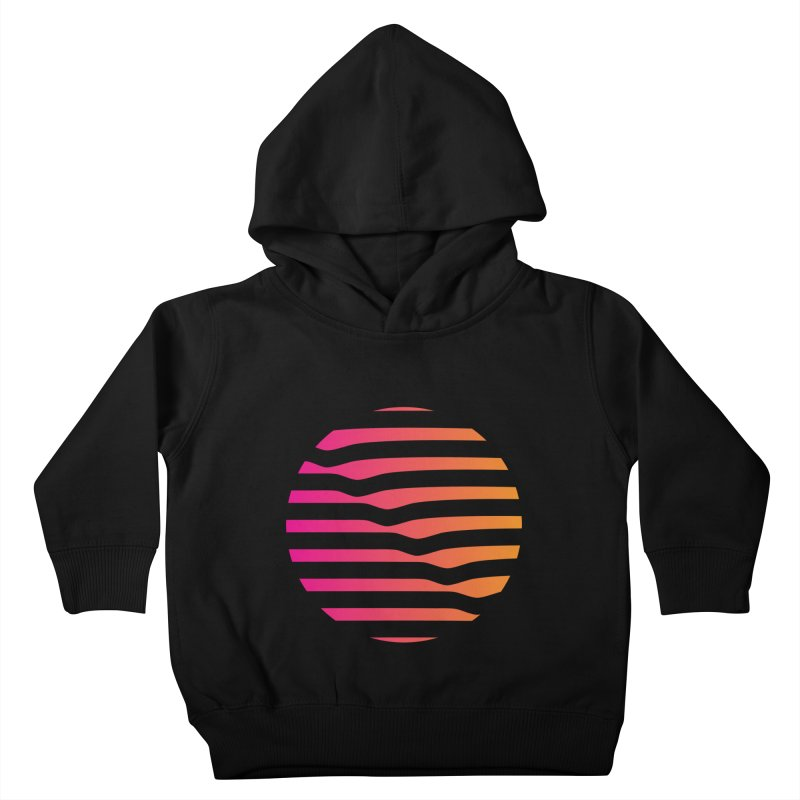 Geometric Circle Kids Toddler Pullover Hoody by Caio Call Design Shop