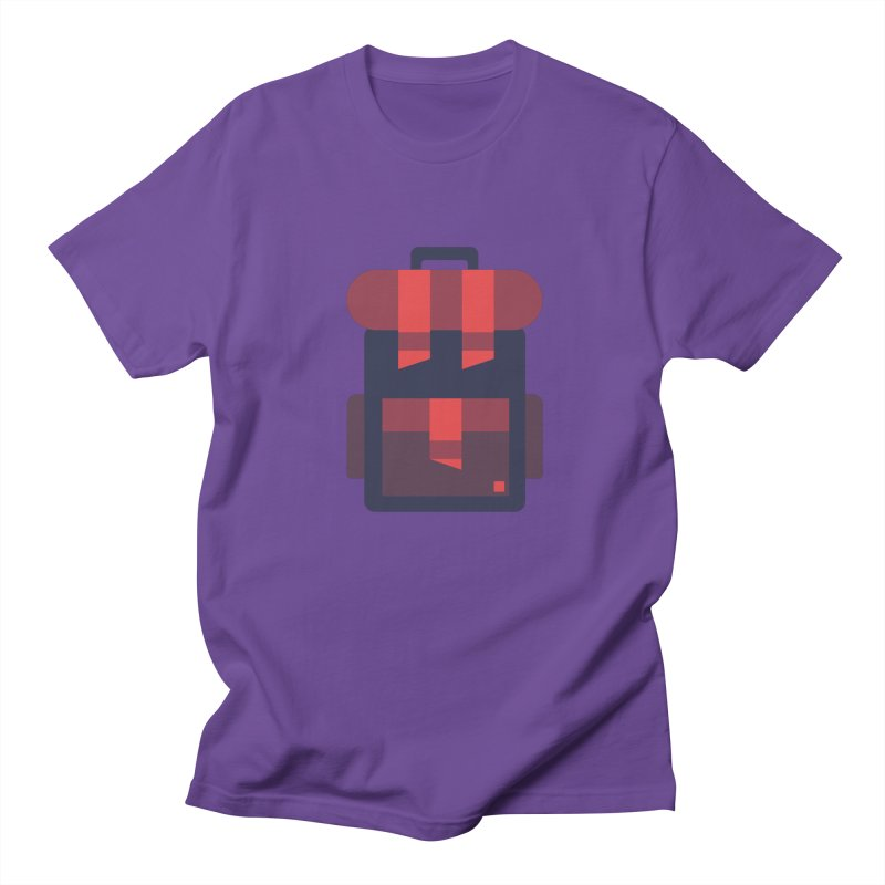 Backpack Men's T-shirt by Caio Call Design Shop