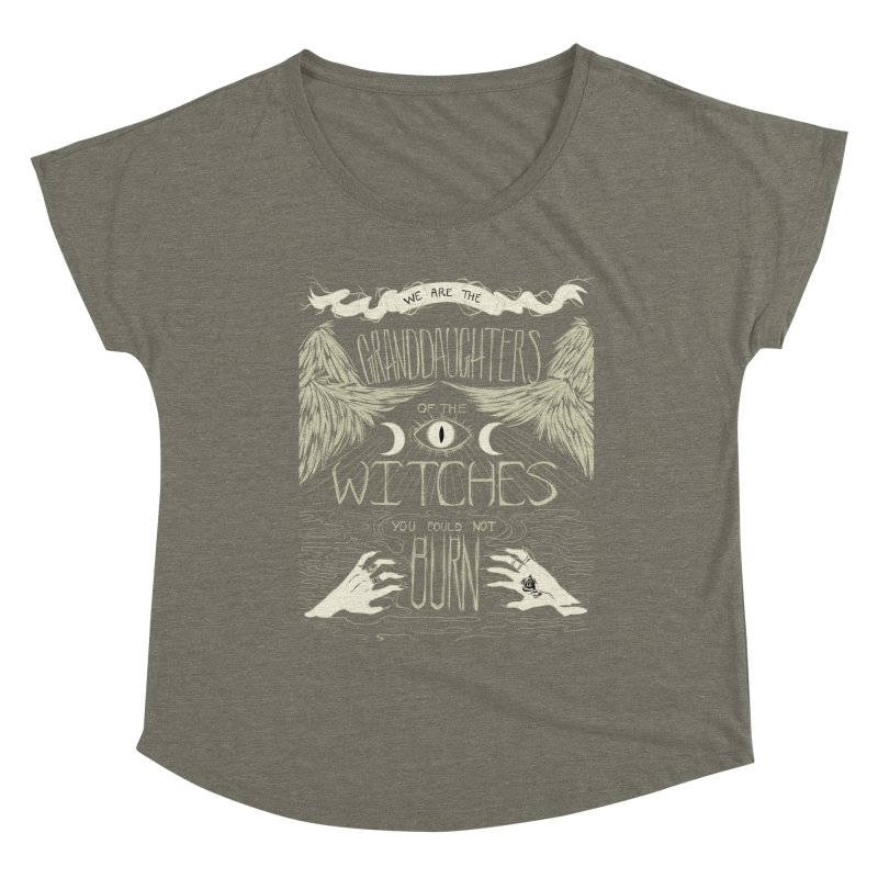 We Are The Granddaughters Women's Scoop Neck by caitymayhem's Artist Shop