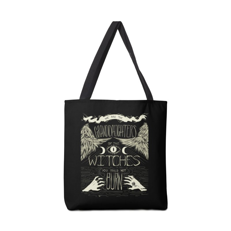 We Are The Granddaughters Accessories Bag by caitymayhem's Artist Shop