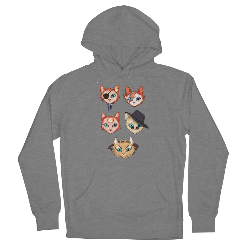 Bowie Cats Women's Pullover Hoody by caitymayhem's Artist Shop
