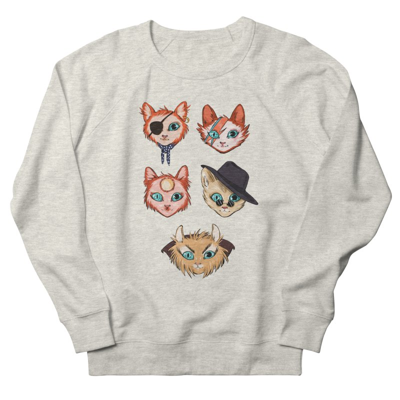 Bowie Cats Men's Sweatshirt by caitymayhem's Artist Shop