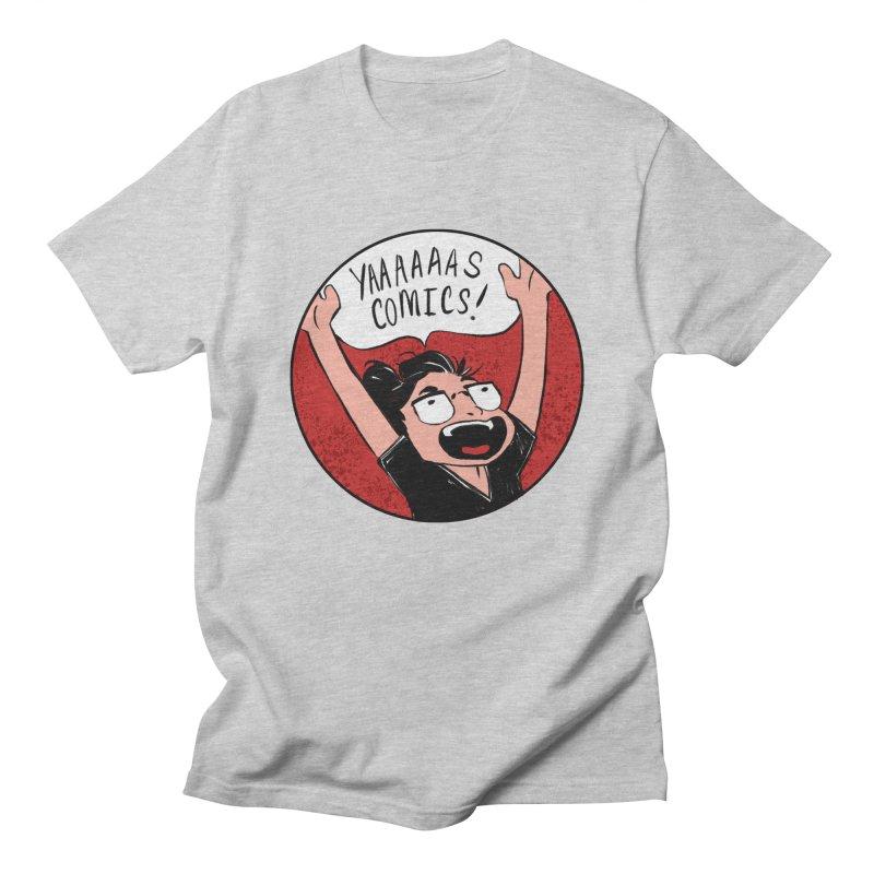Yaaaaas Comics! Men's T-Shirt by caitymayhem's Artist Shop