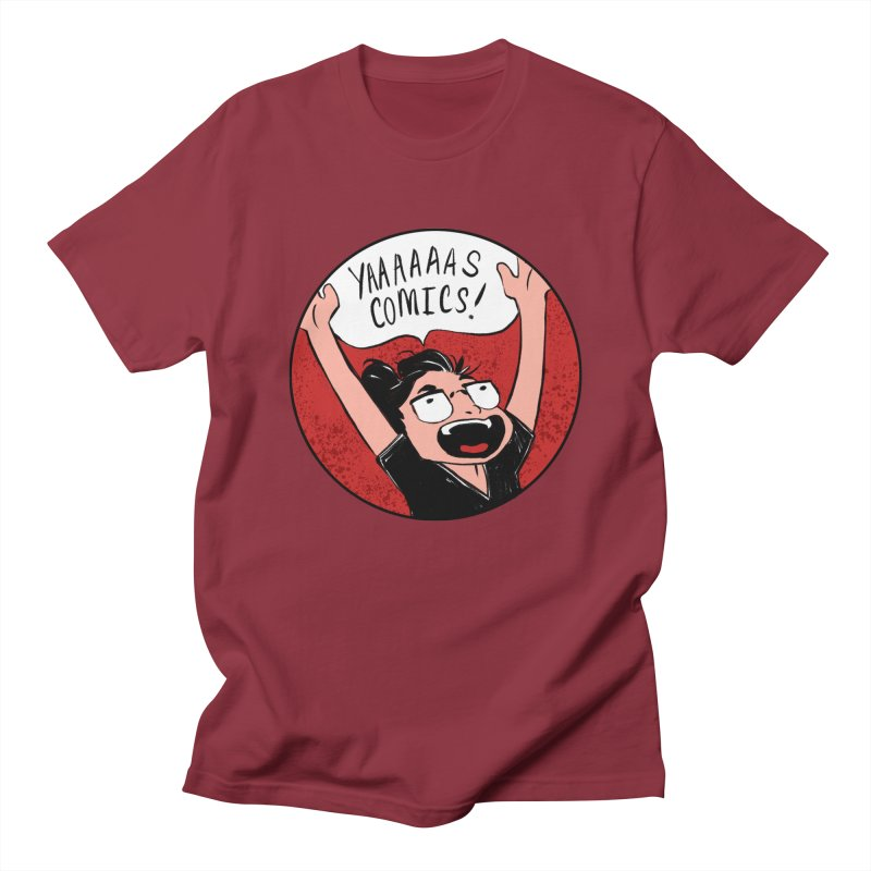 Yaaaaas Comics! Women's T-Shirt by caitymayhem's Artist Shop