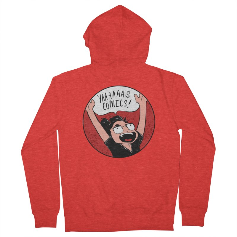 Yaaaaas Comics! Women's Zip-Up Hoody by caitymayhem's Artist Shop