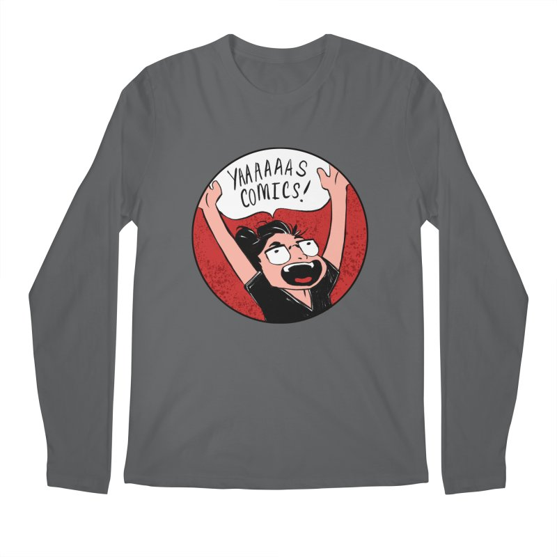 Yaaaaas Comics! Men's Longsleeve T-Shirt by caitymayhem's Artist Shop