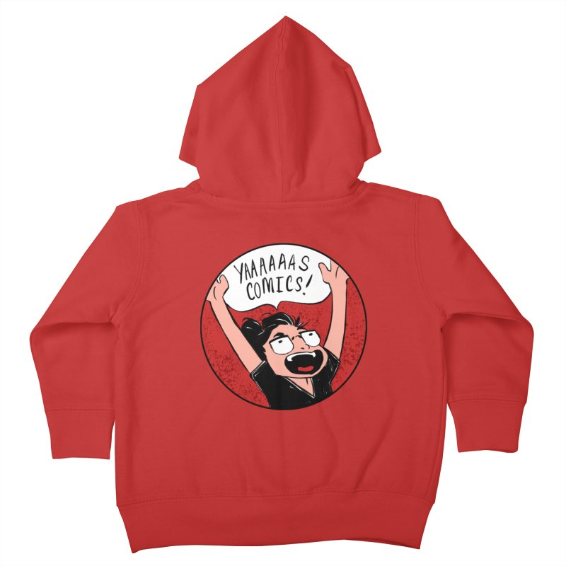 Yaaaaas Comics! Kids Toddler Zip-Up Hoody by caitymayhem's Artist Shop