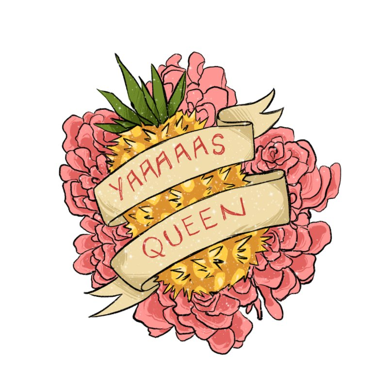Yaaaaas Queen Accessories Notebook by caitymayhem's Artist Shop