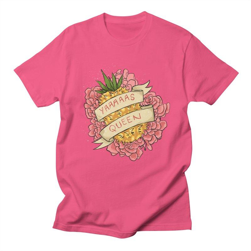 Yaaaaas Queen Men's T-Shirt by caitymayhem's Artist Shop