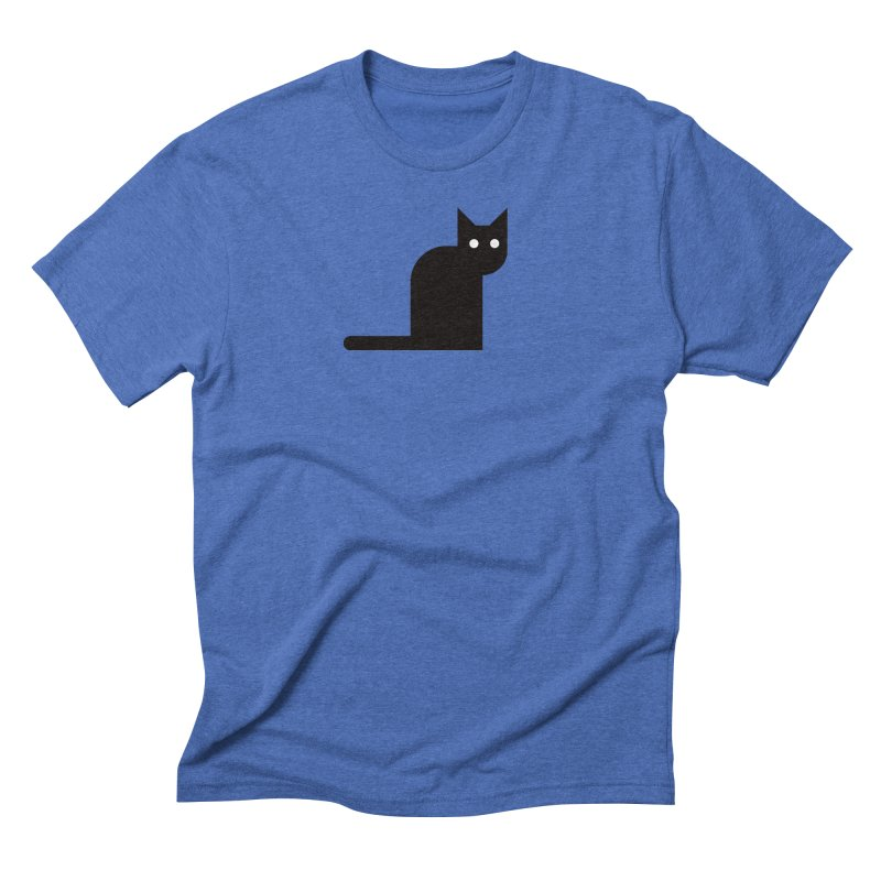 Calamityware Cat Men's Triblend T-Shirt by Calamityware