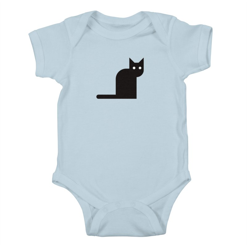 Calamityware Cat Kids Baby Bodysuit by Calamityware