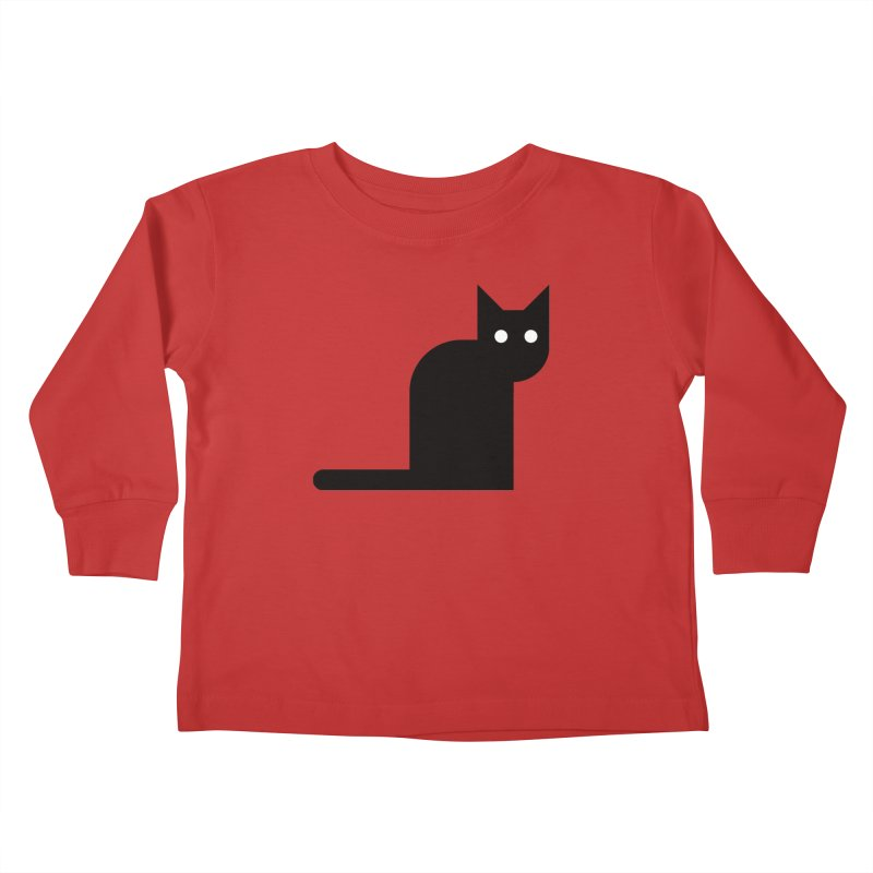 Calamityware Cat Kids Toddler Longsleeve T-Shirt by Calamityware