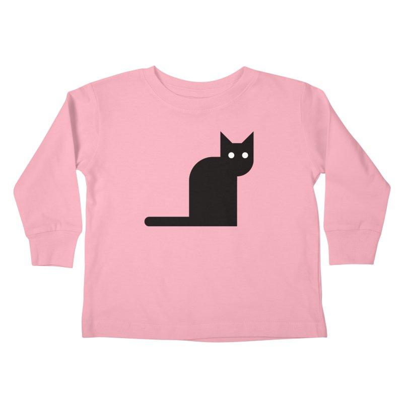 Calamityware Cat Kids Toddler Longsleeve T-Shirt by Calamityware