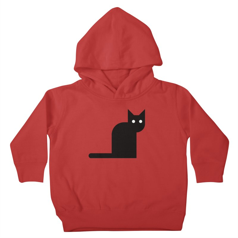 Calamityware Cat Kids Toddler Pullover Hoody by Calamityware