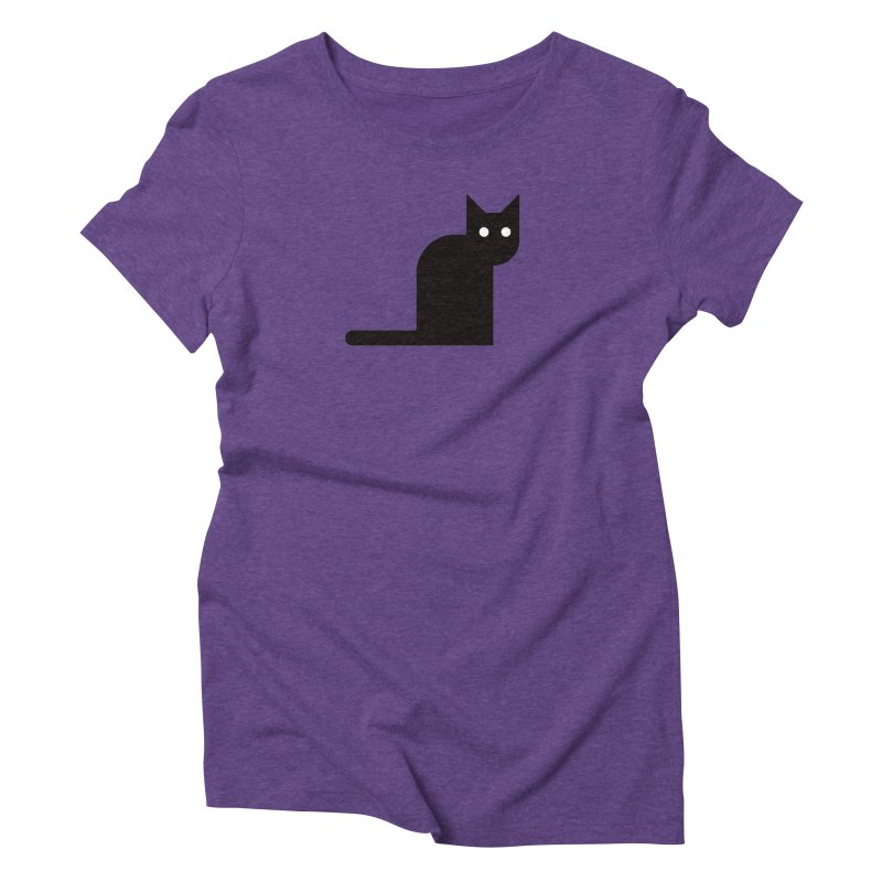 Calamityware Cat Women's Triblend T-Shirt by Calamityware
