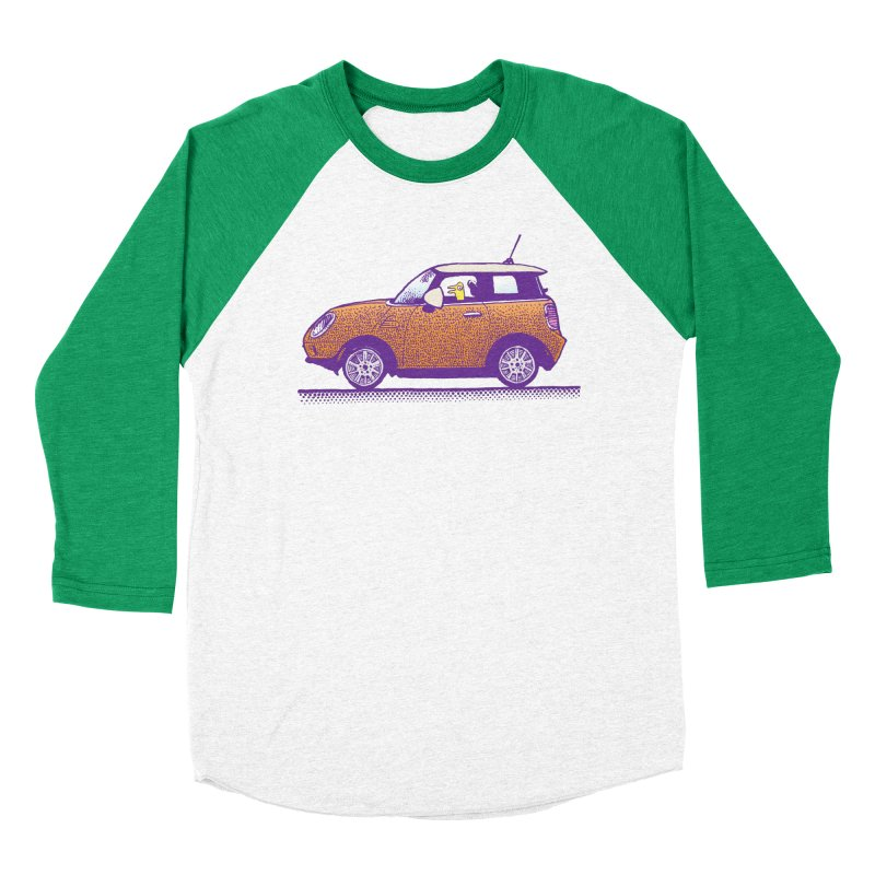 Mini Cooper Men's Baseball Triblend Longsleeve T-Shirt by Calamityware