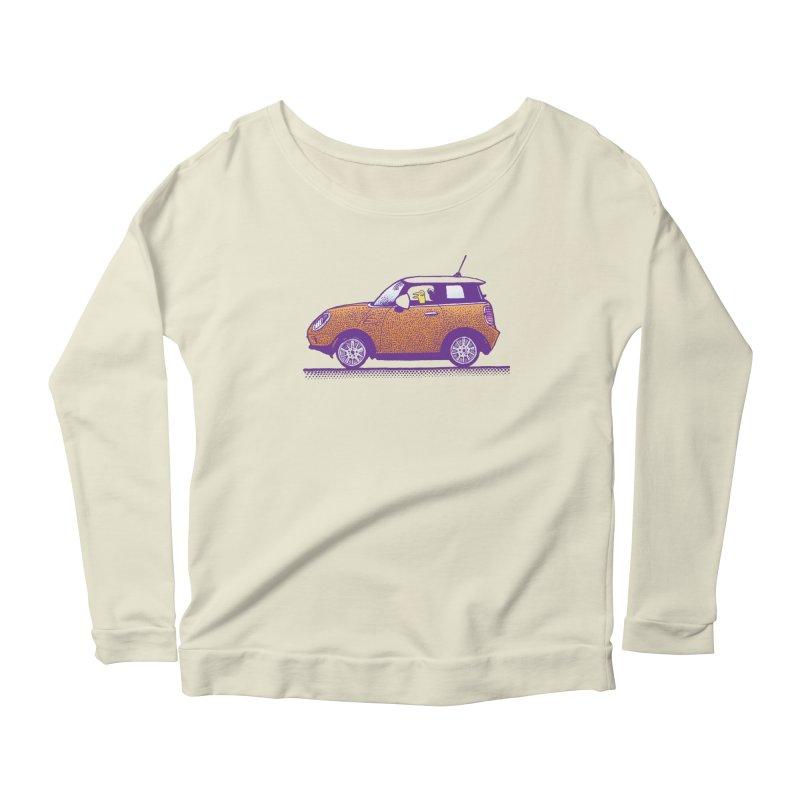 Mini Cooper Women's Scoop Neck Longsleeve T-Shirt by Calamityware