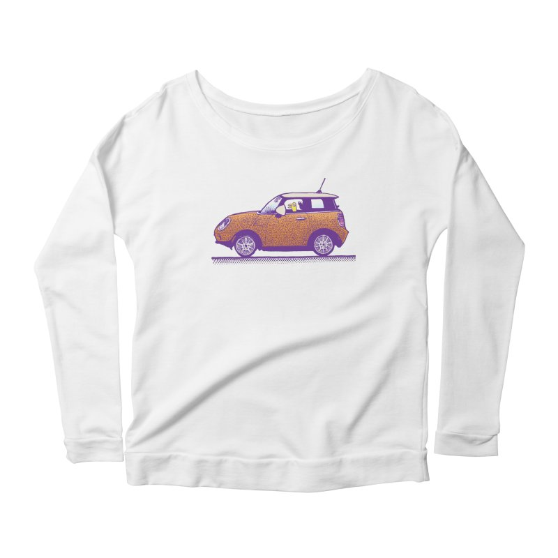 Mini Cooper Women's Scoop Neck Longsleeve T-Shirt by Calamityware
