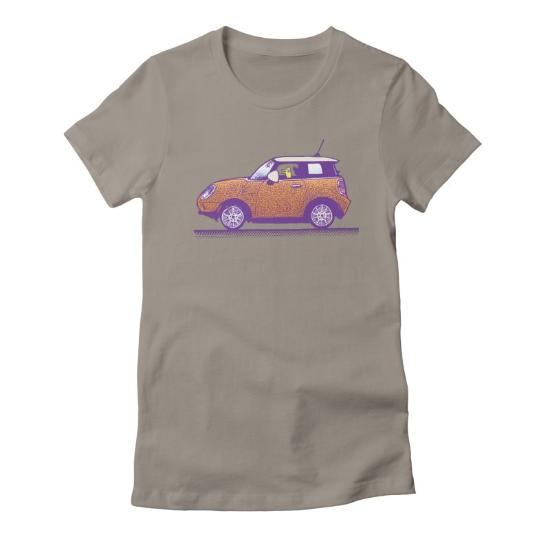 Mini Cooper Women's Fitted T-Shirt by Calamityware