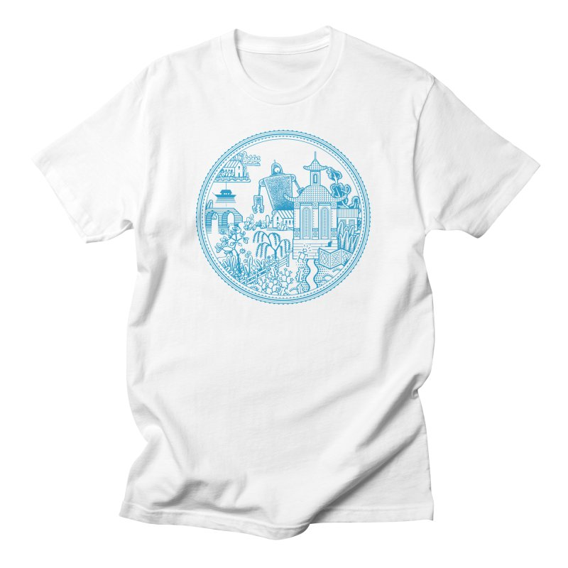 Giant Robot Men's T-Shirt by Calamityware