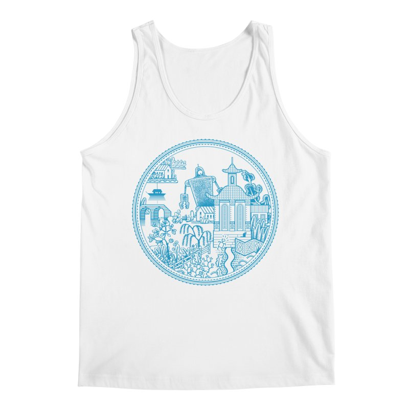 Giant Robot Men's Tank by Calamityware