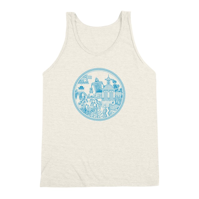 Giant Robot Men's Triblend Tank by Calamityware