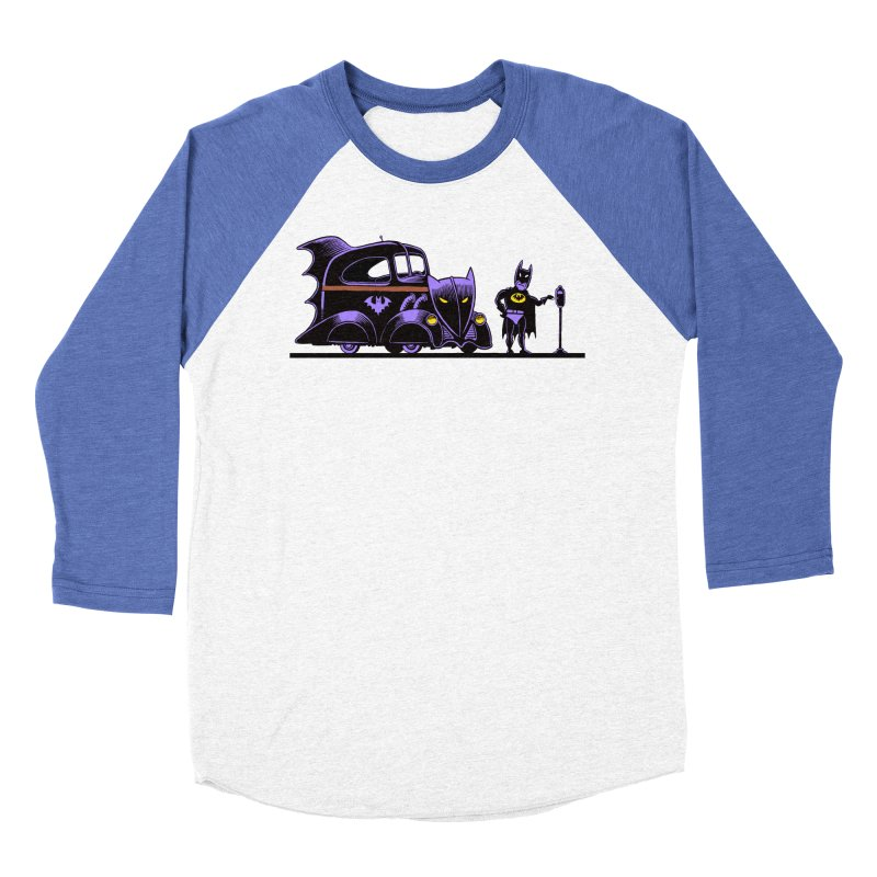 1943 Batmobile Men's Baseball Triblend T-Shirt by Calamityware