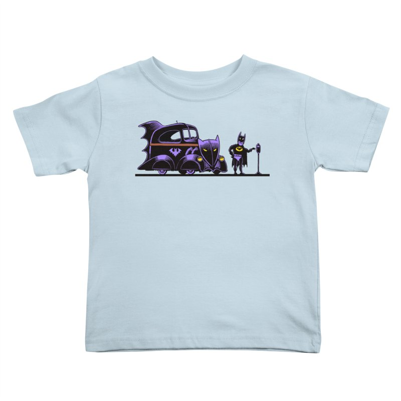 1943 Batmobile Kids Toddler T-Shirt by Calamityware