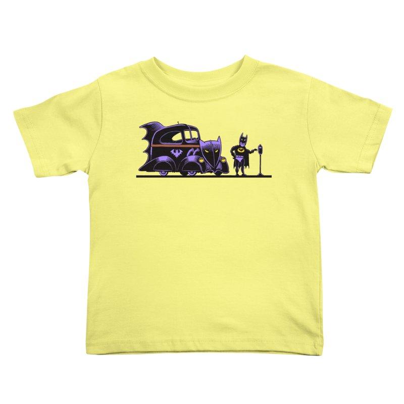 1943 Batmobile Kids Toddler T-Shirt by Calamityware