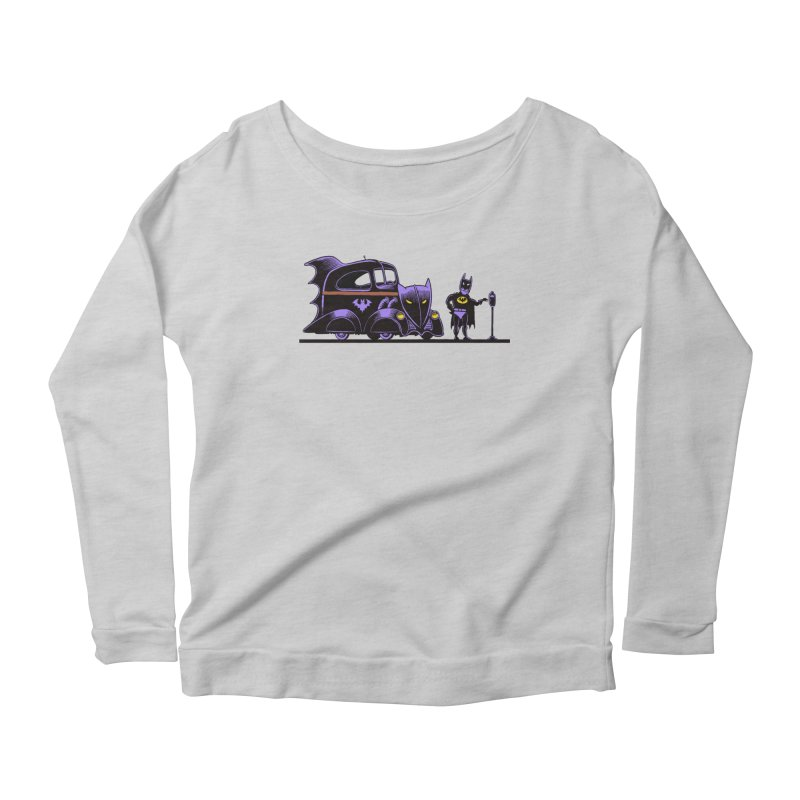 1943 Batmobile Women's Scoop Neck Longsleeve T-Shirt by Calamityware