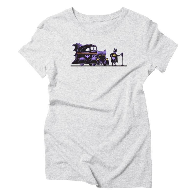 1943 Batmobile Women's Triblend T-shirt by Calamityware