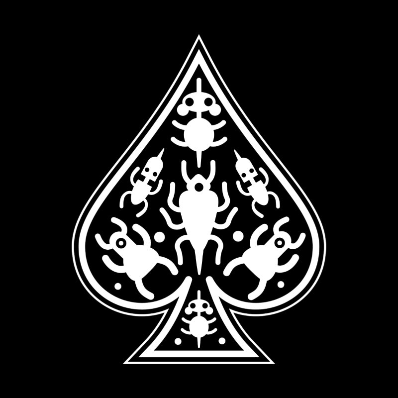 Ace of Spades by Calamityware