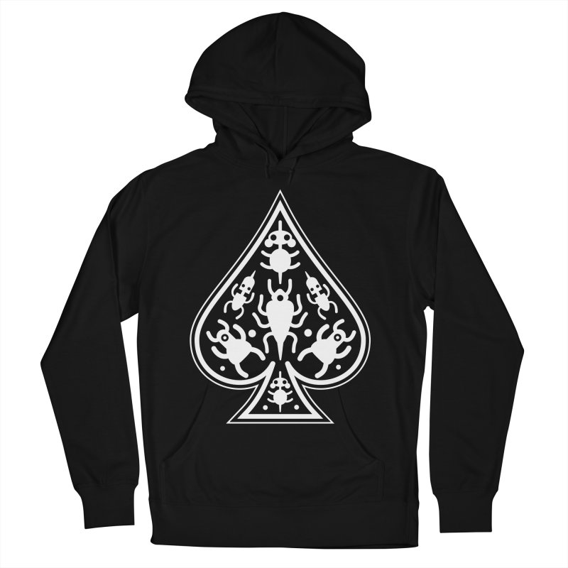 Ace of Spades Men's French Terry Pullover Hoody by Calamityware