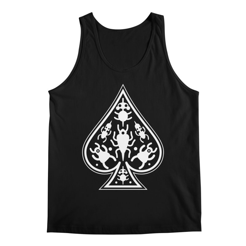 Ace of Spades Men's Tank by Calamityware