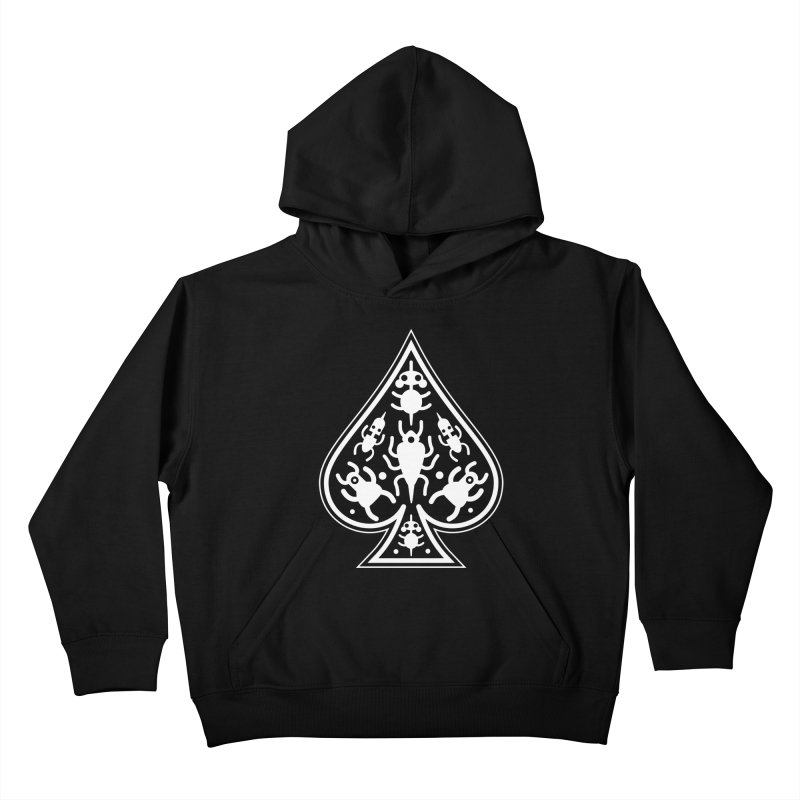 Ace of Spades Kids Pullover Hoody by Calamityware