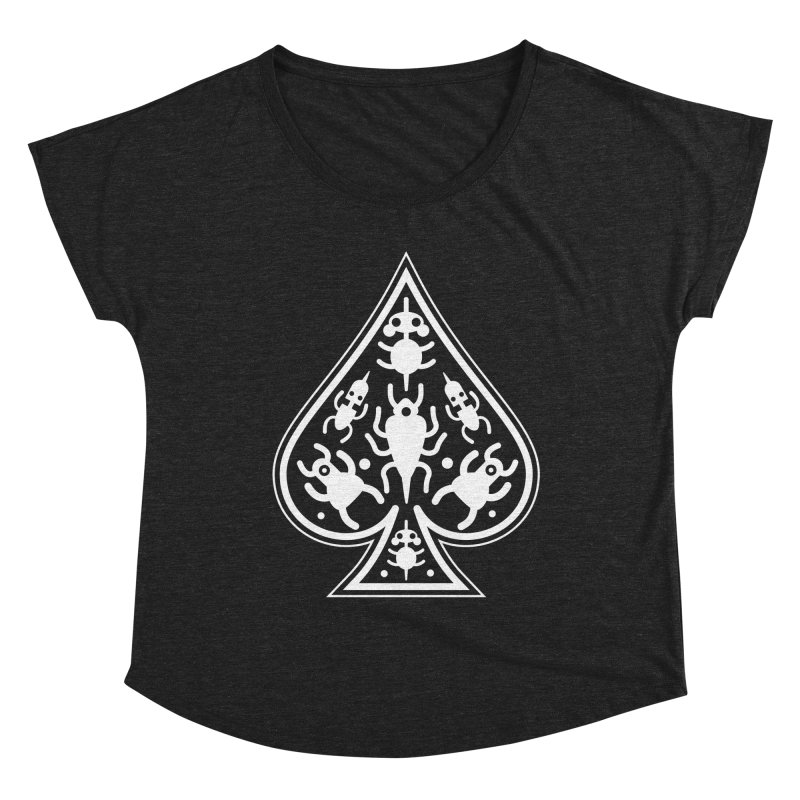 Ace of Spades Women's Dolman Scoop Neck by Calamityware