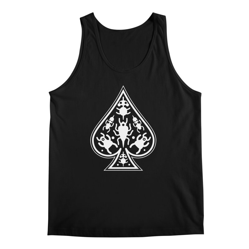 Ace of Spades Men's Regular Tank by Calamityware