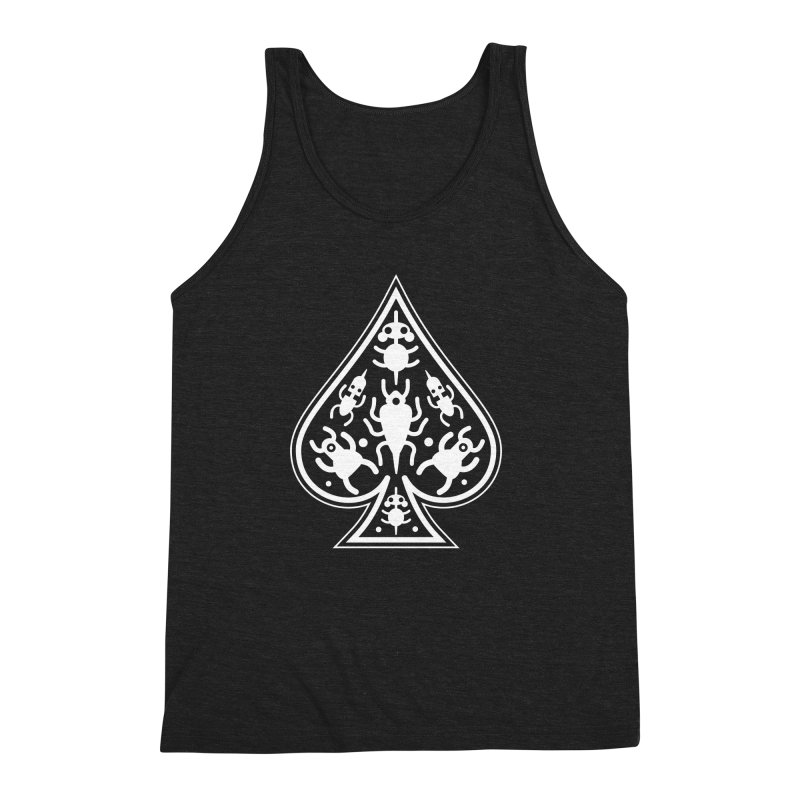 Ace of Spades Men's Triblend Tank by Calamityware