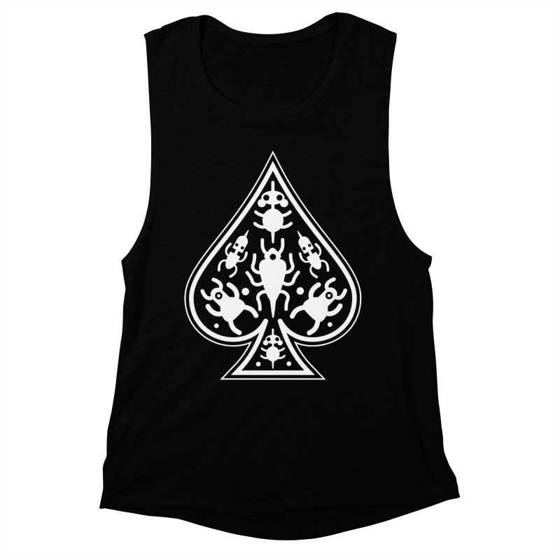 Ace of Spades Women's Muscle Tank by Calamityware