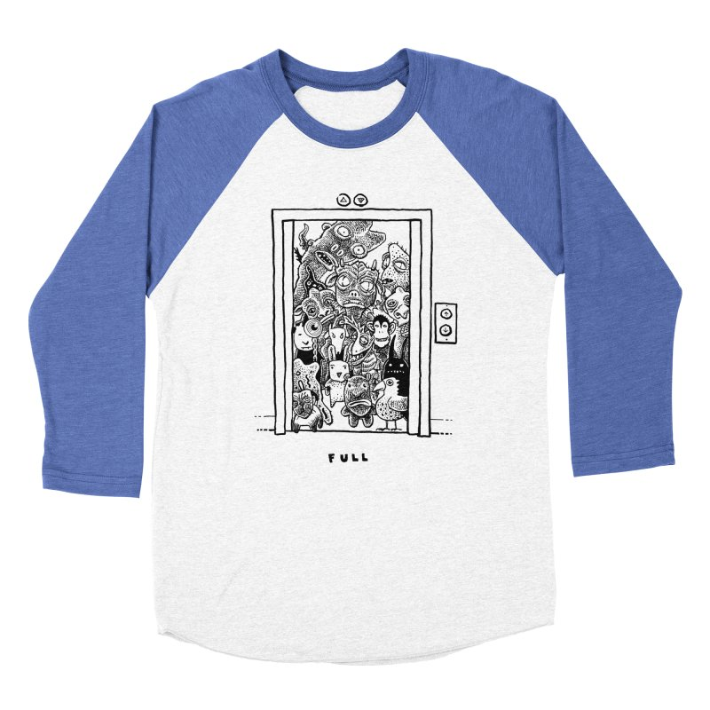 Full Women's Baseball Triblend Longsleeve T-Shirt by Calamityware