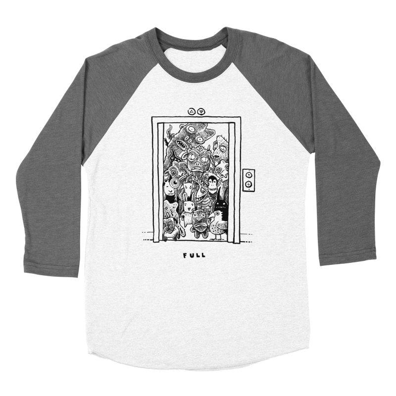 Full Men's Baseball Triblend Longsleeve T-Shirt by Calamityware