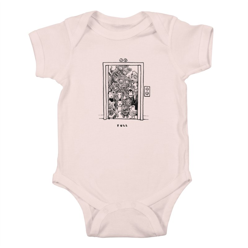 Full Kids Baby Bodysuit by Calamityware