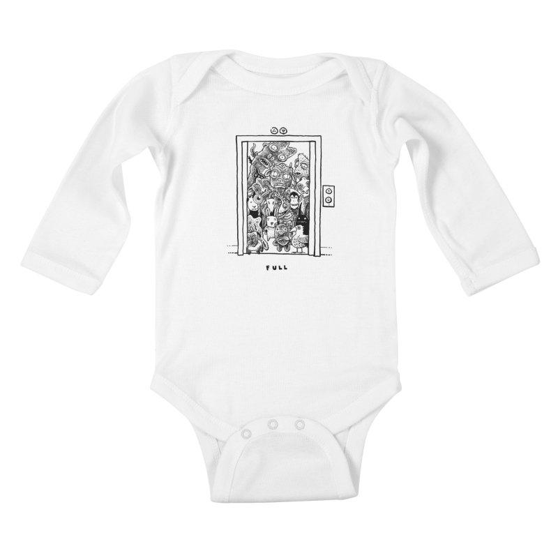 Full Kids Baby Longsleeve Bodysuit by Calamityware