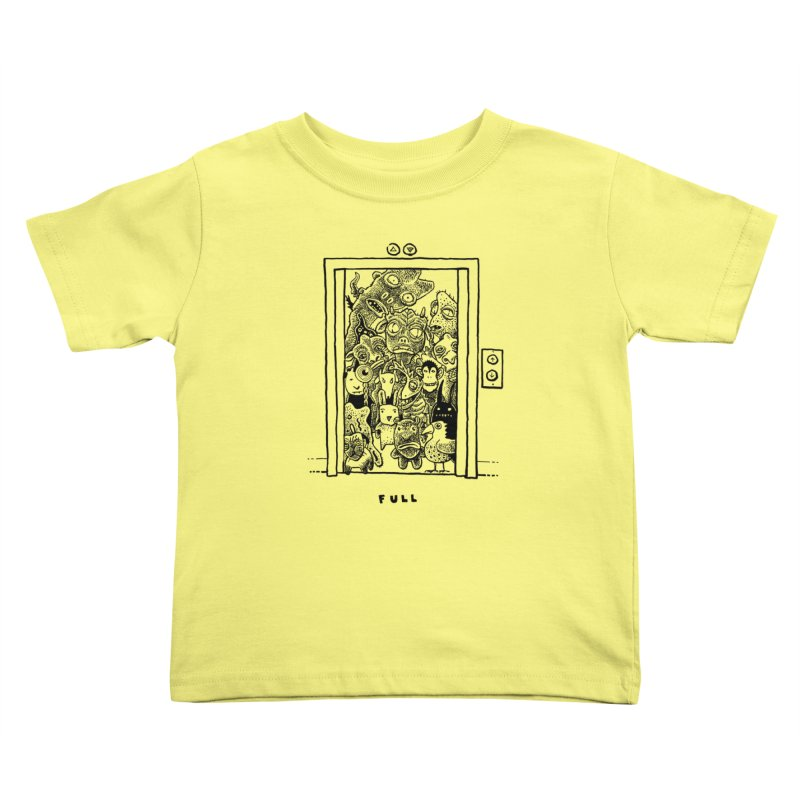 Full Kids Toddler T-Shirt by Calamityware