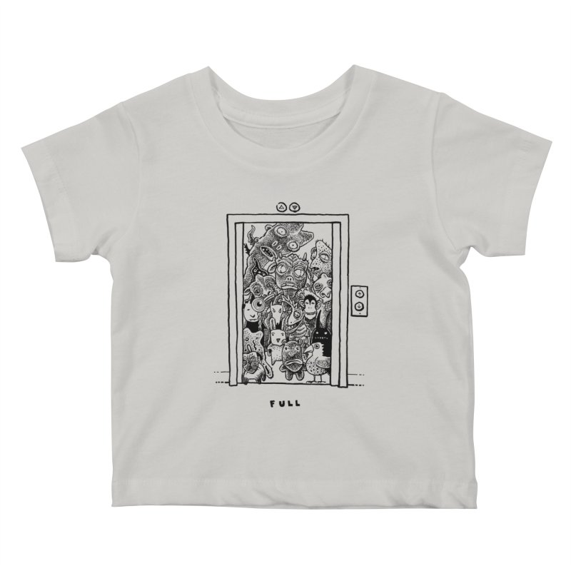 Full Kids Baby T-Shirt by Calamityware