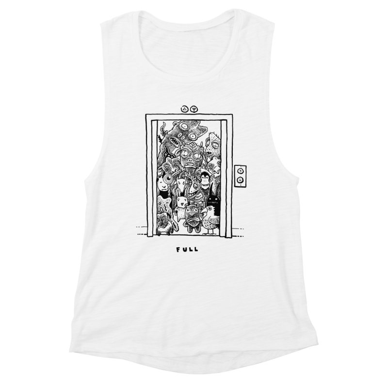 Full Women's Muscle Tank by Calamityware