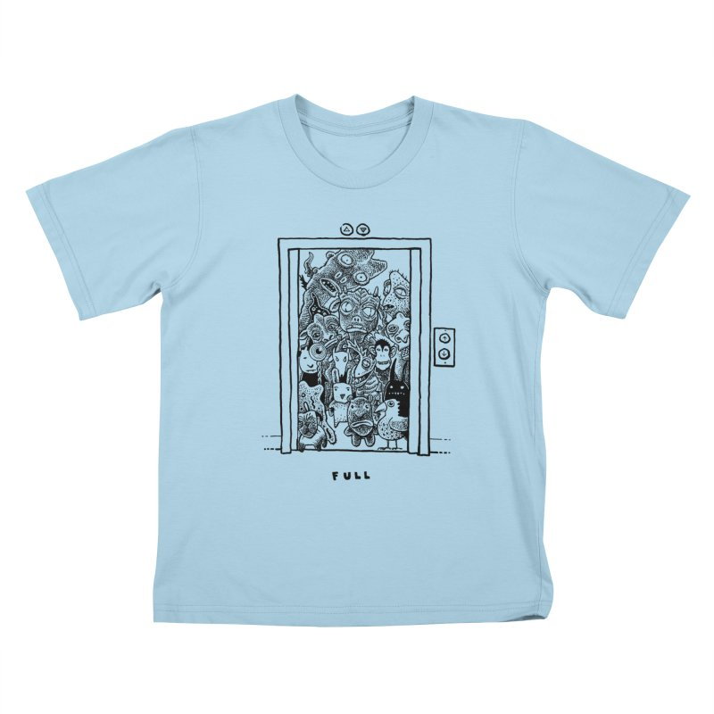 Full Kids T-shirt by Calamityware